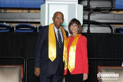 Photo of Robert J. Brown and Kathy Manning